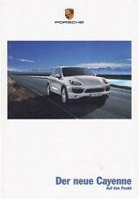Porsche Cayenne diesel s Hybrid turbo SUV 4x4 brochue folleto libro 2010/3