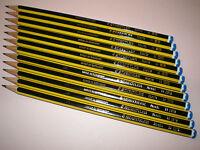 12x STAEDTLER Noris 120-3 H Bleistifte Bleistift bruchfest 100% PEFC NEU & OVP