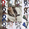 Square Dot Small Foulard Silk Bandana Neck Scarf Handkerchief Soft Gifts Women