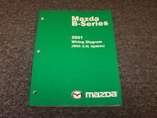 2001 Mazda B4000 B3000 B2300 B-Series Trucks Electrical Wiring Diagram Manual