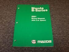 mazda b2300 manuals literature 2001 mazda b4000 b3000 b2300 b series trucks electrical wiring diagram manual
