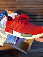 Adidas NMD Runner Red Size 10 New
