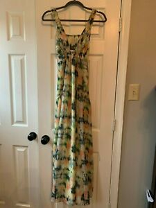 Jessica Simpson Maternity Dress M Floor Length *worn once* Perfect Condition