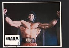 Lou Ferrigno - Signed Autograph Lobby Card - Hercules