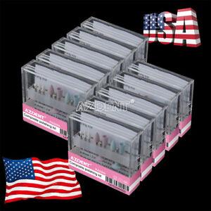 50X Dental Composite Polishing Kit RA0309 Low Speed 3 Ceramic+ 6 Silicone Rubber