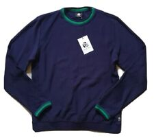 PAUL SMITH SWEATSHIRT JUMPER NAVY BLUE SIZE M NEW WITH TAGS RRP £130
