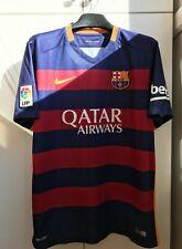 Barcelona jersey L 2015 2016 home shirt 658794-422 soccer football nike