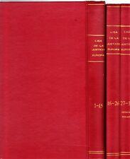 LIGA DE LA JUSTICIA EUROPA Colección completa 36 nº's encuadernados. ZINCO, 1989