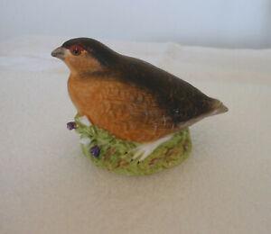 Aynsley Bone China Wild Bird Series Grouse