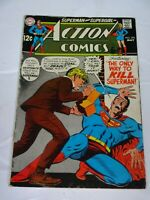 Action Comics  #376 vtg  comic DC comics Comic book