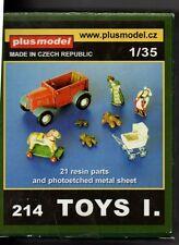 PLUSMODEL PLUS MODEL 214 - TOYS set 1 - 1/35 RESIN KIT