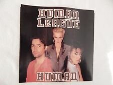 """Human League """"Human"""" PICTURE SLEEVE! MINT! PERFECT! ONLY COPY ON eBAY!"""