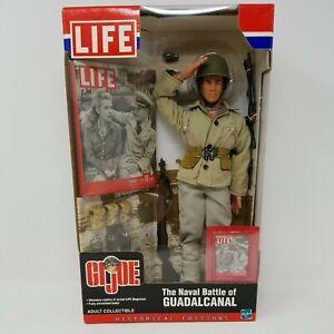 LIFE GI Joe Historical Editions Naval Battle of Guadalcanal Action Figure 1:06