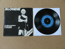 """BLONDIE Rip Her To Shreds 1977 UK 1ST PRESSING 7"""" IN RARE PICTURE SLEEVE CHS2180"""