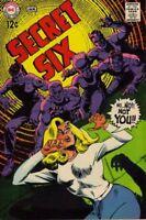 SECRET SIX #5 VG/F, DC Comics 1969 Stock Image