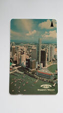 SINGAPORE PHONE CARD CITY SKY SCRAPPER BAY VIEW SINGAPORE TELECOM