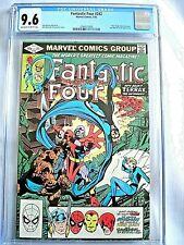 Marvel FANTASTIC FOUR #242 CGC 9.6 NM+ John Byrne 1982