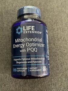 Life Extension Mitochondrial Energy Optimizer with PQQ 120 caps Exp 04/2022