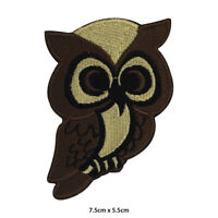 Owl Disney Cute Embroidered Patch Iron on Sew On Badge For Clothes etc