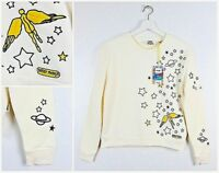 "NEW WRANGLER by PETER MAX "" COSMIC FLYER"" SWEATSHIRT STAR XS/S/M/L"