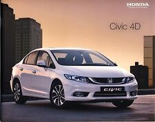Honda Civic Sedan 2016 Booklet Brochure Poland Poland 32 S.