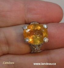 11.45 ct Royal Imperial Topaz - Sapphire Gemstone Ring