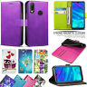 For Huawei Honor 10 Lite New Stylish PU Leather Wallet Flip Stand Case Cover