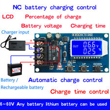 10A Lithium Battery Charge NC Control Module Protection Board 6-60V LCD Display
