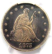 1875-P Twenty Cent Coin 20C - PCGS XF Details (EF) - Rare Date 1875 Coin!