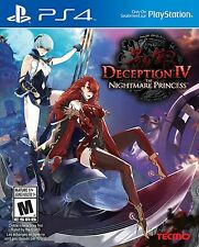 Deception IV: The Nightmare Princess ( PlayStation 4) Brand new Factory sealed!!