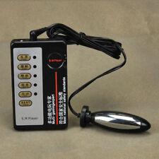 PLUG GODE ELECTROSTIMULATION  + TELECOMMANDE SEXTOYS