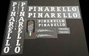 Pinarello 1989 Treviso Bicycle Decal Set in White (Pina-S102)