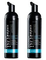 2 x Bottles AVON ADVANCE TECHNIQUES 24 Hour Hold Volume & Curl Mousse