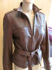 Hüftlange Damenjacken & -mäntel aus Leder mit 36 Größe