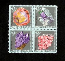 United States Scott #1538-1541 Ten Cent Block of Four - Mineral Heritage