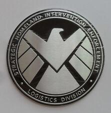 Avengers Marvel Agents of SHIELD 3D Metal Car Sticker Badge Emblem Decals mm+18