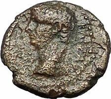 CLAUDIUS 41AD Sardes Lydia Hercules Genuine Authentic Ancient Roman Coin i56319