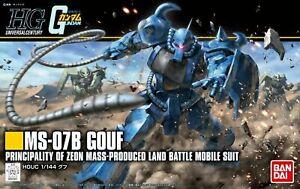 -=] BANDAI - HGUC MS-07B Gundam Gouf Revive 1/144 Model Kit [=-