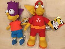 "Homero Simpson ""radioactivo-Man"" 13"" & 11"" Bartman-Matt Matt Groening * Raro * etiquetas **"