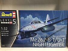 +++ Revell Messerschmitt Me262 B-1/U-1 Nightfighter 1:32 04995