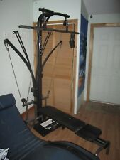 Bowflex XLT Home Gym Complete with Attachments, Tension Rods, and Owner's Manual