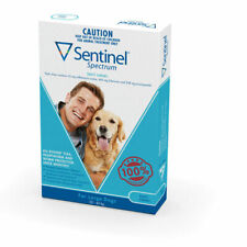 Sentinel Spectrum 22 to 45 kg Chewable for Dogs - 6 Pack