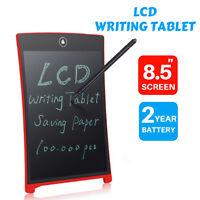 "8.5"" LCD Digital Writing Pad Tablet Memo Board eWriter Electronic Drawing Stylus"