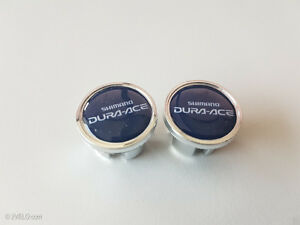 Vintage style Shimano dura ace Handlebar End Plugs