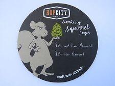 Beer Coaster ~ HopCity Brewing Barking Squirrel Lager ~ Canada; Jack Astor's Bar