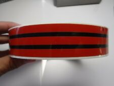 1984-1987 Chevrolet~GMC Factory Vintage Style Stripes~5 stripe profile~Red/Black