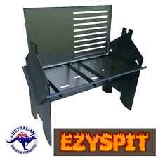 camping fire pit, folding barbecue & Spit Rotisserie flat pack AUSTRALIAN MADE