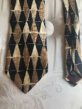 NEW STRUCTURE Designer Men's Silk Tie, NWT