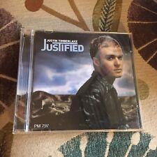 JUSTIN TIMBERLAKE, JUSTIFIED CD. 13 SONGS
