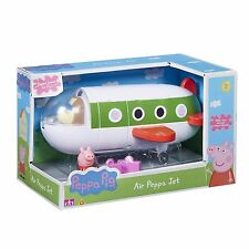 Peppa Pig Air Peppa Jet Airplane Toy With Peppa Figure & Suitcase TOY NEW